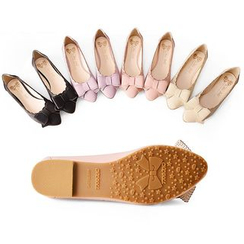 ChicDoll - Bow-Accent Flats