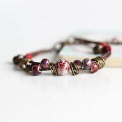Porcelana - Layered Beaded Bracelet
