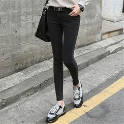 CHICFOX - Plain Skinny Jeans