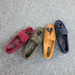 VIVIER - Tassel-Front Loafers