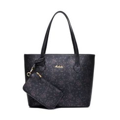 BeiBaoBao - Faux-Leather Tote With Pouch