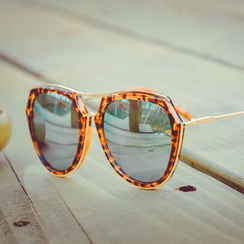 FaceFrame - Double Bridge Sunglasses
