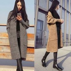 lilygirl - Thick Long Cardigan