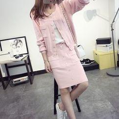Florie - Set: Cardigan + Skirt