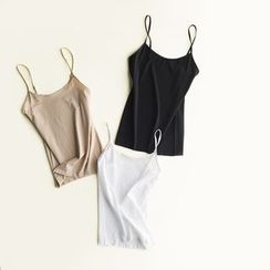 LA SHOP - Plain Camisole Top