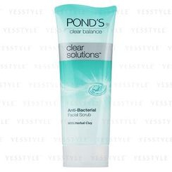 Pond's - Clear Solutions Anti-Bacterial Facial Scrub