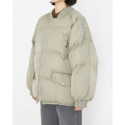 Someday, if - Zip-Up Thick Padded Jacket