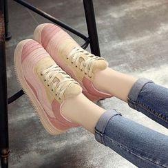 傾城 - 拼接休閒鞋