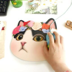 Full House - Cat Mouse Pad
