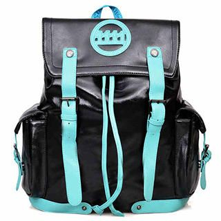 Fourone - Contrast-Trim Appliqué Backpack