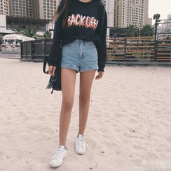 HotBlock - 牛仔短裤