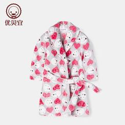 Yobaby - Kids Printed Robe