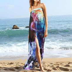 Sunset Hours - Beach Chiffon Cover-Up