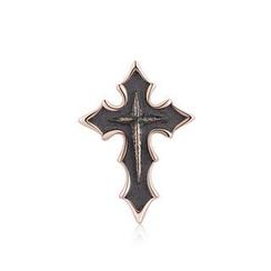 MBLife.com - Left Right Accessory - 萬聖節925純銀朋克十字架單隻耳釘耳環