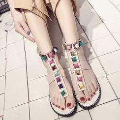 Chryse - Studded Sandals