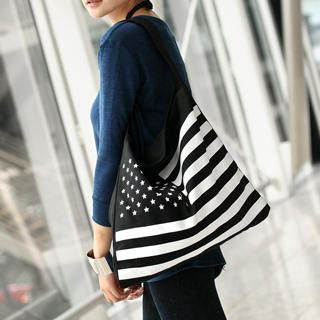 59 Seconds - American Flag Tote