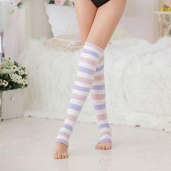Giselle Shapewear - Striped Compression Socks