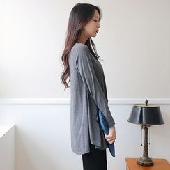 Stylementor - Round-Neck Long-Sleeve T-Shirt
