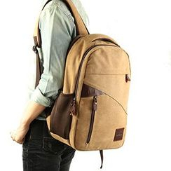 Moyyi - Canvas Laptop Backpack