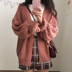 monroll - Cable-Knit Cardigan