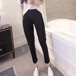 Maine - Cropped Tapered Pants