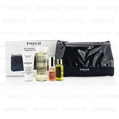 Payot - Travel Kit Top To Toe Set: Cleansing Oil 50ml + Cream 15ml + Elixir DEan Essence 5ml + Elixir Oil 10ml + Bag