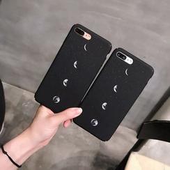 Homap - iPhone 7 / 7 Plus / 6s / 6s Plus 月亮印花手機保護套