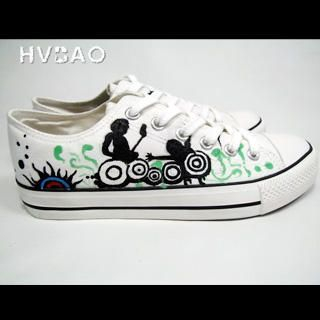 HVBAO - 'Rocking Out' Canvas Sneakers