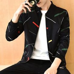 Fusuma - Printed Zip Jacket