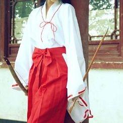 Flamo - Inuyasha Kikyo Cosplay Costume