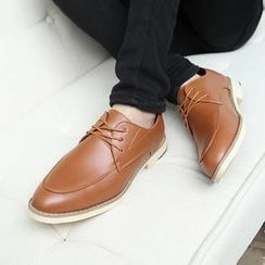 Easy Steps - Faux-Leather Oxford Shoes