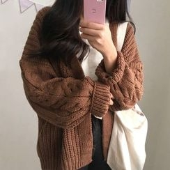 Dute - Cable Knit Cardigan