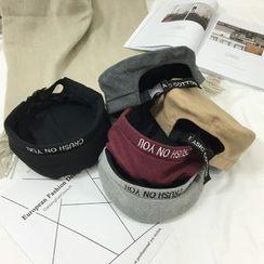 Ordinario - 刺繡貝雷帽