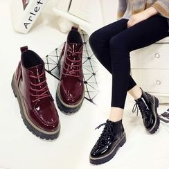 Sleeko - Lace-Up Ankle Boots