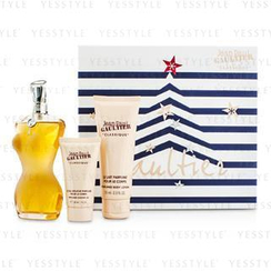 Jean Paul Gaultier - Le Classique Coffret: Eau De Toilette Spray 100ml/3.3oz + Body Lotion 75ml/2.5oz + Shower Gel 30ml/1oz