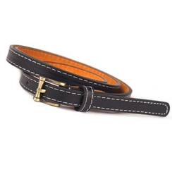 Yist! - Stitch Detailed Slim Belt