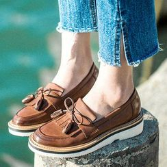 MIAOLV - Fringed Loafers