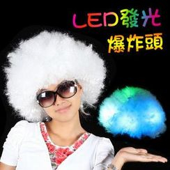 Clair Beauty - LED Afro Colorful Fun Wig
