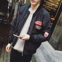 子俊 - 貼布繡飛行夾克