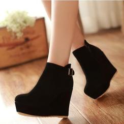Freesia - 内增高及踝靴