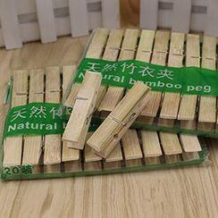 Evora - 竹衣夾包裝 (20個)
