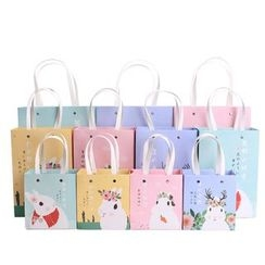 Homey House - Rabbit Print Gift Bag