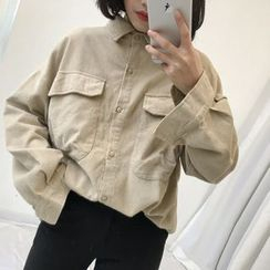 COMON - Plain Oversized Shirt