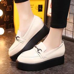 Ammie - 厚底乐福鞋