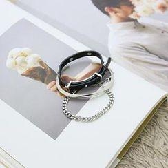 NANING9 - Set Of 3: Metallic Bracelets