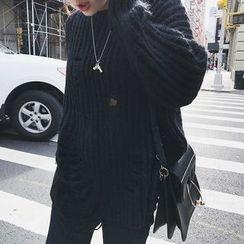 Fancy Room - Open-Knit Sweater