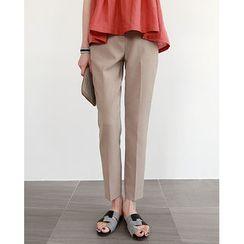 NIPONJJUYA - Colored Tapered Dress Pants