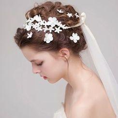 Miss Diva - Floral Hairband / Hair Pin