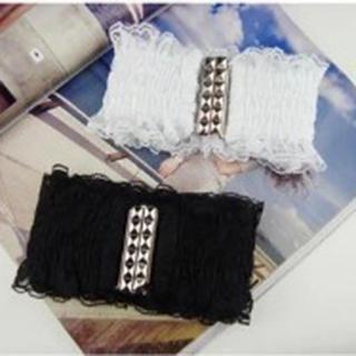 Charm n Style - Lace Trim Elastic Belt