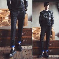 MRCYC - Cuffed Slim-Fit Pants